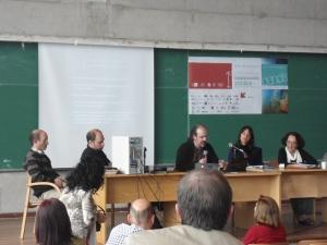 foto de panelistas en congreso comunicación publica de la ciencia