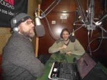 Federico Robles, maestro en Radio Ciudad