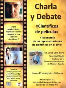 Afiche Taxonomia del CIne2013